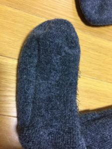 ミズノのブレスサーモ靴下